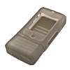 Gray Silicone Cell Phone Skin Case for NOKIA 3250