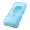 Clear Blue Cell Phone Case for NOKIA 3250