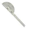 Stainless Steel Protractor & 10cm Ruler