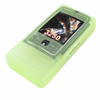 Flexible Silicone Skin Case for NOKIA 3250 Green