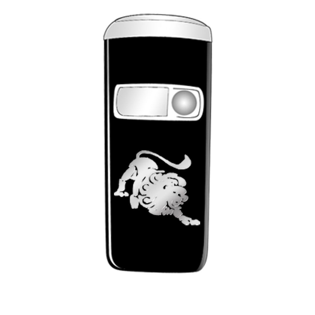 Metallic Sticker for Cell Phone NDS MP4 Mp5 Player - Leo