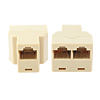 RJ45 CAT 5 Plug Connector Joiner Splitter