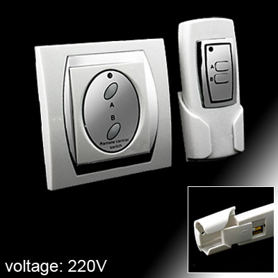 Wireless Digital Remote Control Switch for Home Appliance (Model:T-923B) White