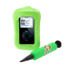 Cyan Plastic Inflatable Water Guard Cover for iPod Nano Video Photo