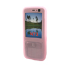 COOL Silicone Rubber Skin Case for NOKIA N73 - Pink