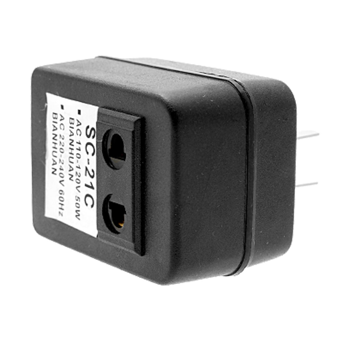 50 Watts US Plug AC Power Voltage Converter 110V to 220V Wall Adapter