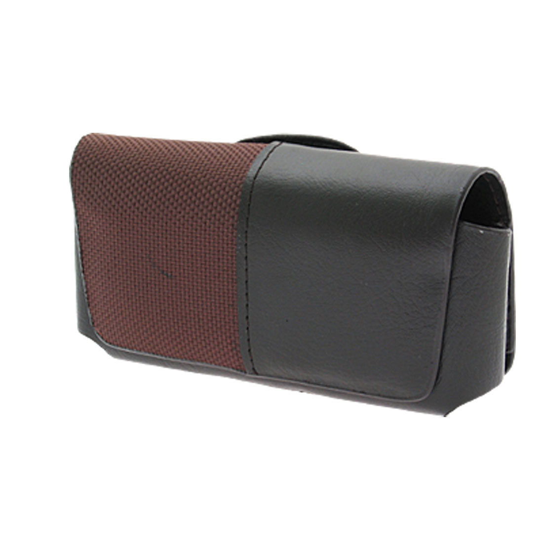 Black Faux Leather Casing Holder for Palm 650 700 PDA