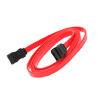 F SATA Serial ATA Cable Adapter for Hard Driver 6 inch - Red