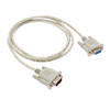 M RS232 COM to F RS232 COM Adapter Cable 4.5Ft - White