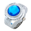 Fashion Turquoise Blue Simulated Diamond Ring Jewelry Watches