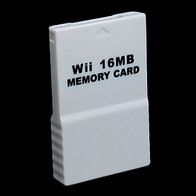 Nintedo Wii Game System 16MB Memory Card
