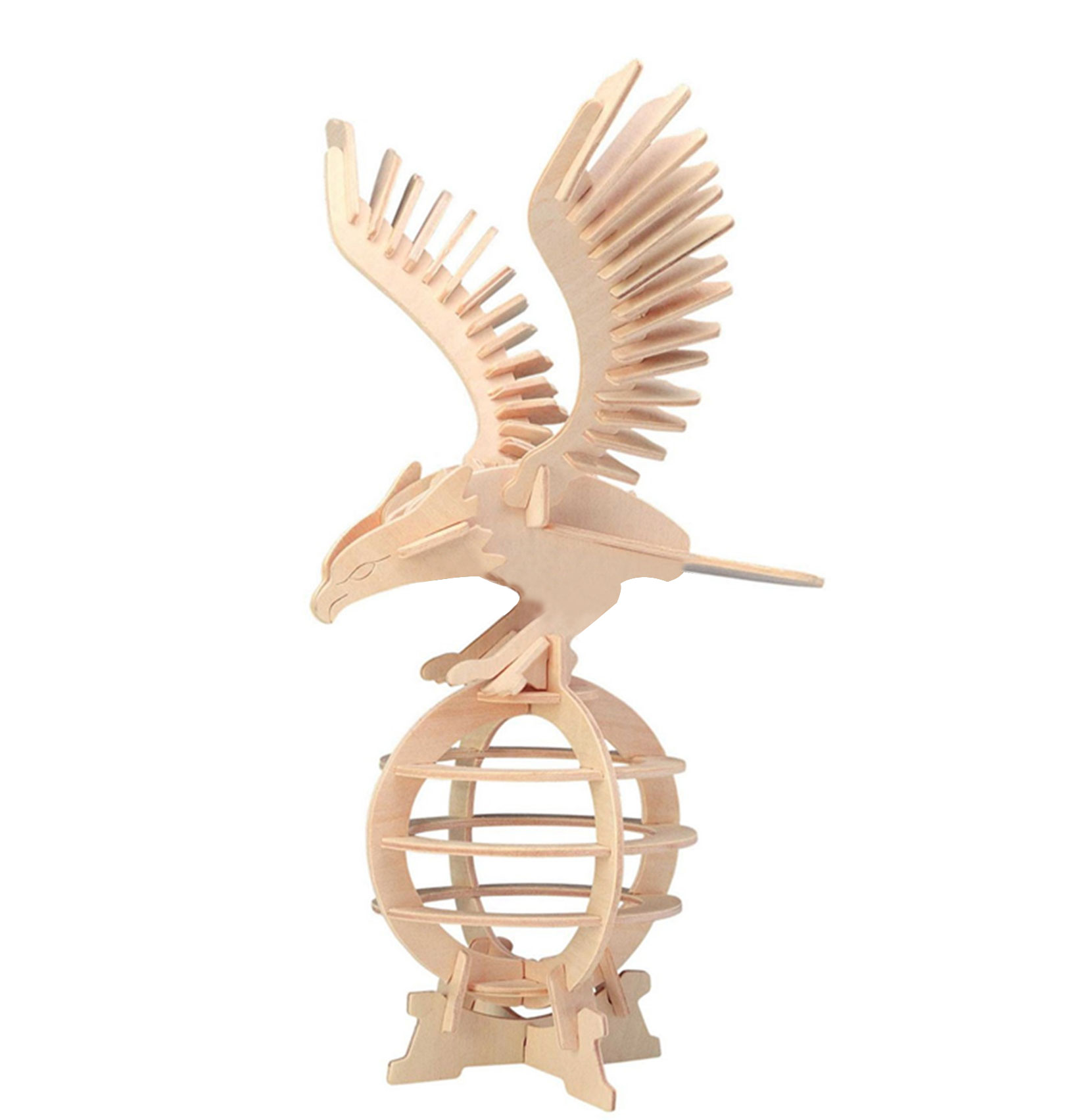 Toy - Eagle Woodcraft Construction Kit Puzzle Model for DIY Lover
