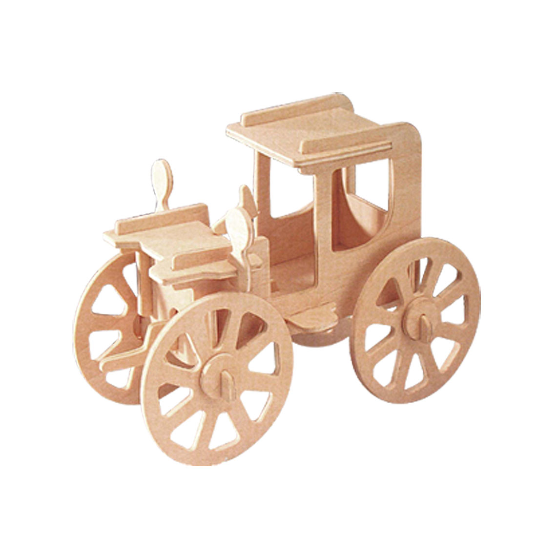 Toy - Antique Automobile Woodcraft Construction Kit Model Puzzle for DIY Lover