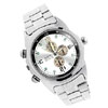 High Quality Fashion Men's Metal Wrist Watches Silver