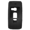 Nokia N72 Cell Phone Skin Cases Silicone Black