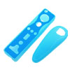 Dual Color Nintendo Wii Remote Controller Silicone Skin Cases Cover