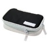 NEW Nylon Deluxe Portable Carrying Case with Belt for Nintendo NDS Lite White and Black