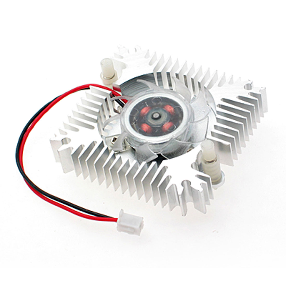 PC VGA Video Card 2 Pin 55mm Cooler Cooling Fan Heatsink DC 12V