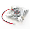 PC VGA Video Card 2 Pin 55mm Cooler Cooling Fan Heatsink DC 12V