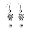 Fashion Jewelry Starlight Silver Beads Earrings