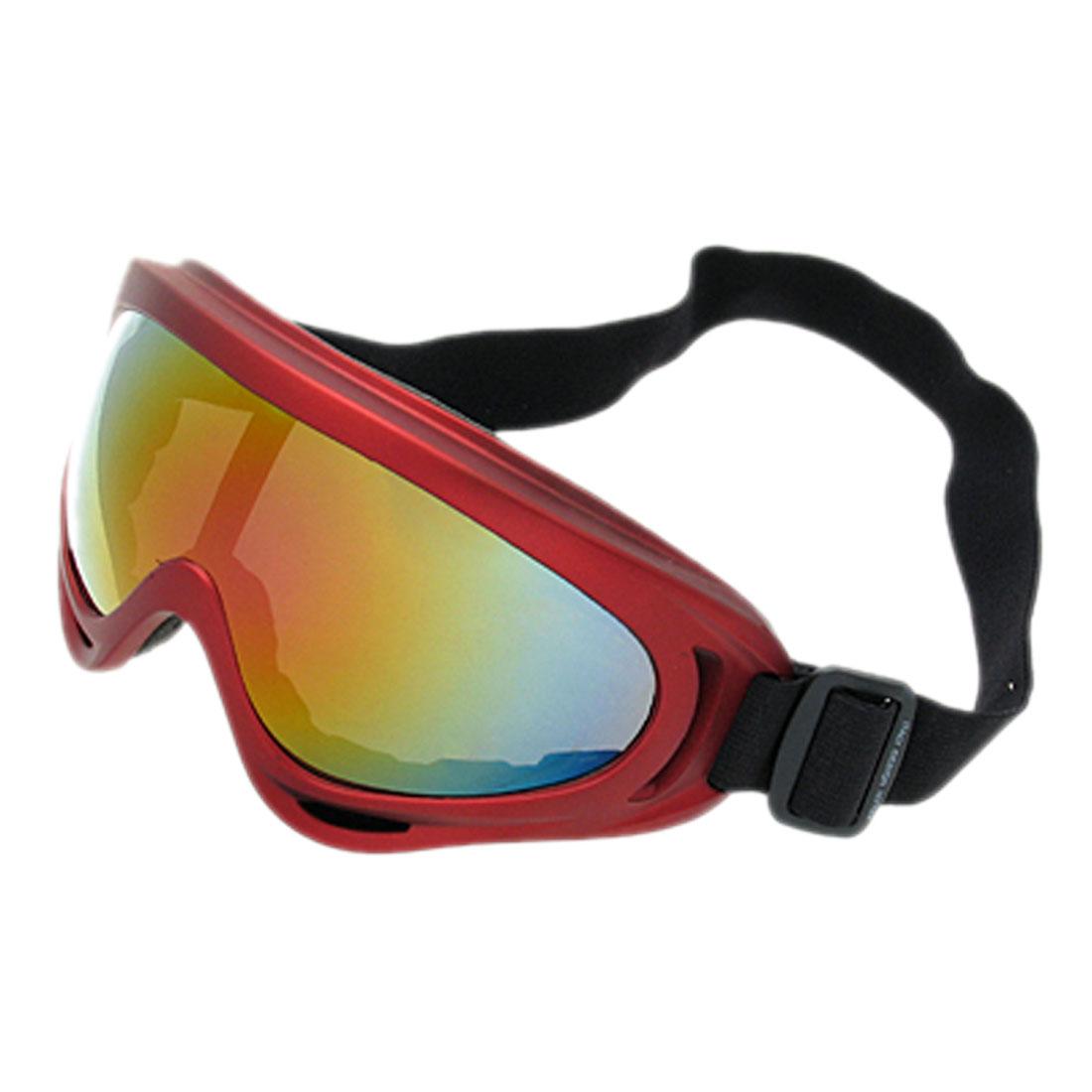 Aspen Mars - Skate Sports Glasses Snowboard Ski Goggles (Red Frame + Lens)- NV123
