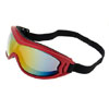 Ski Snowboard Skate Sports Goggles Glasses (Red Frame + Color coated Lens) -NV122
