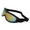 Vail Jaguar Snowboard Skate Sports Glasses Ski Goggles (Black Frame + Color coated Lens)-NV122