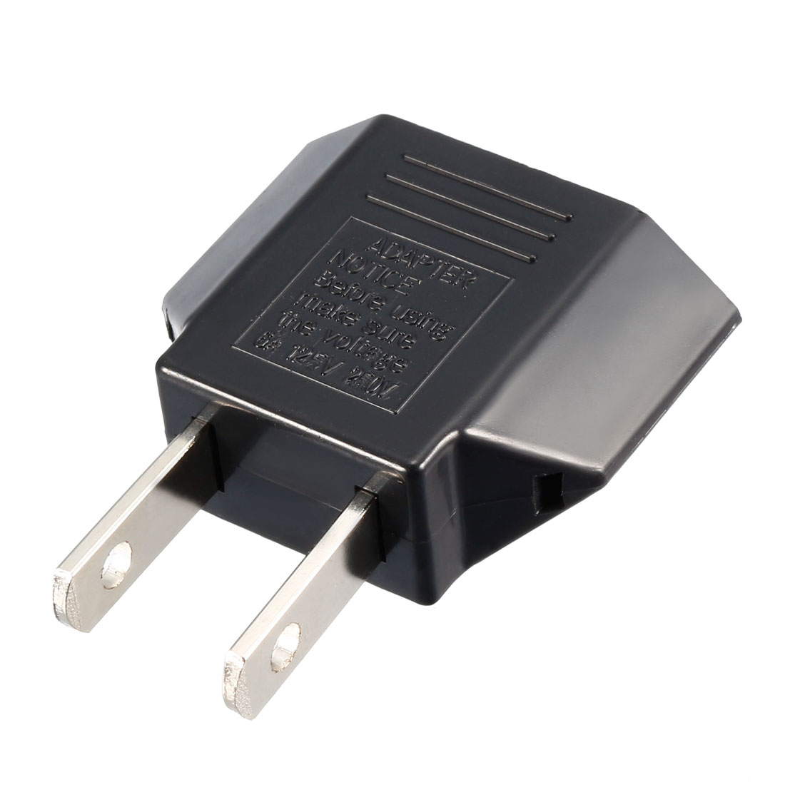 Euro EU to US USA Travel Power Plug Outlet Adapter Converters