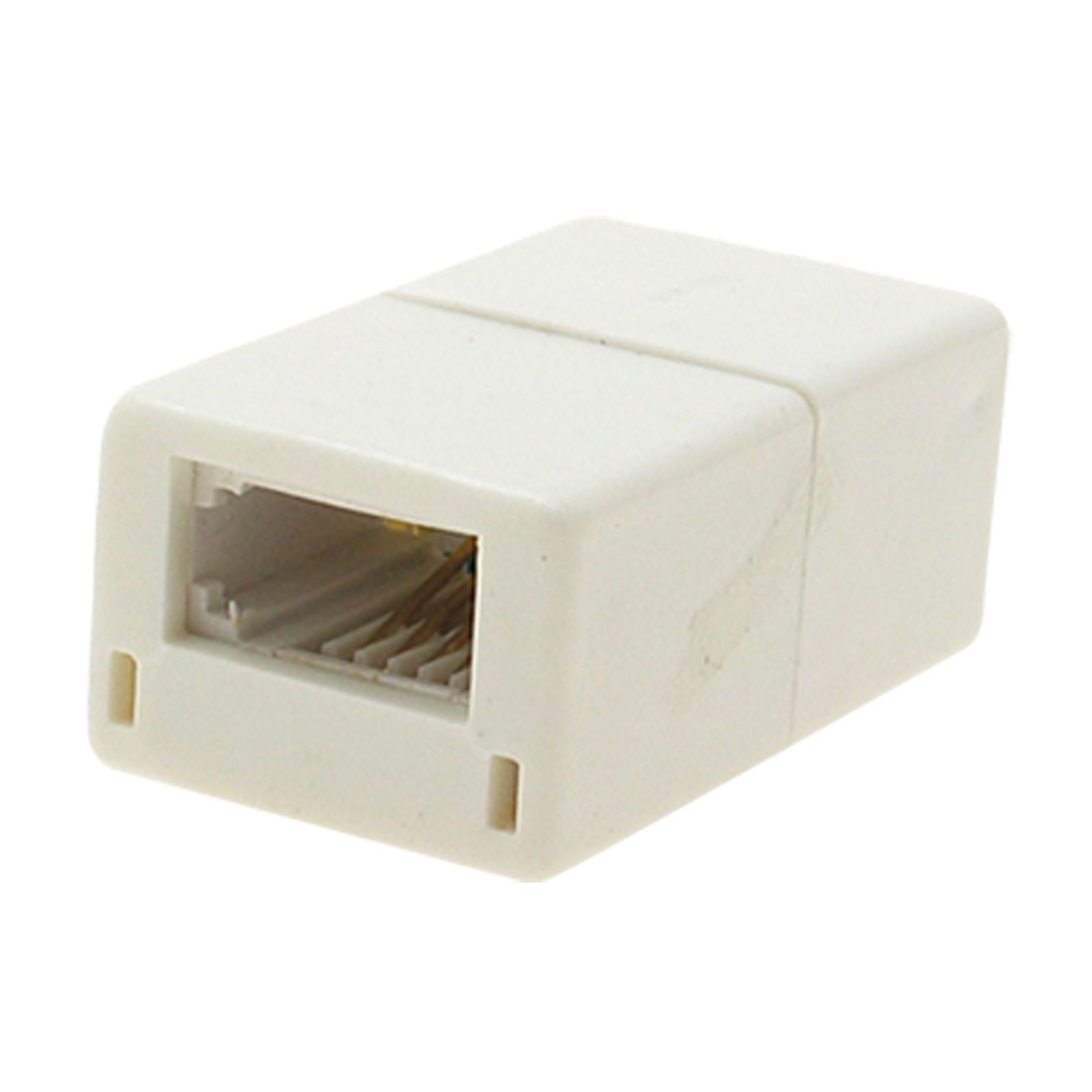Telephone Modem Phone 4P4C Female RJ11 Splitter Adapter