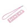 Nintendo Wii Remote Controller Protector Sheet And Wrist Strap Pink