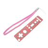 Multi-color Protector Sheet for Nintendo Wii Remote Controller - Red & Silver