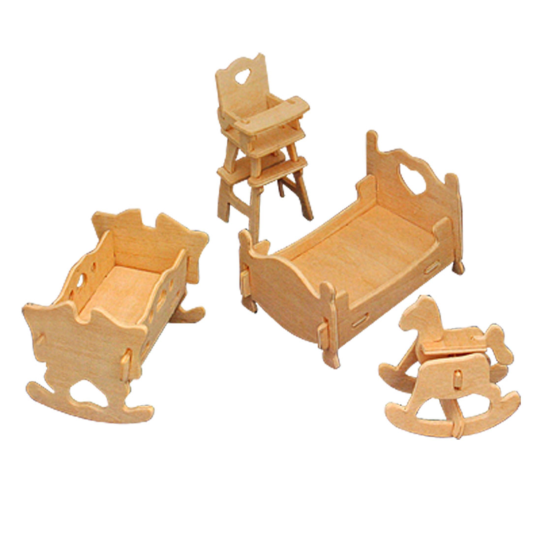 Toys - Wooden Puzzle Toy Models Bedroom