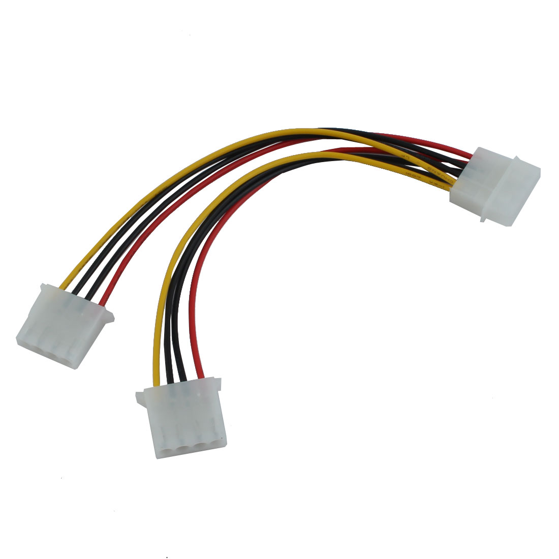 8 inch 1 to 2 Way 4-Pin IDE Y Extension Power Cable