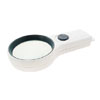 High Quality Illuminated 3X Magnifying Glass Pocket Magnifier White