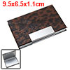 Grand Metal Business Cards / ID Holder Coated Leather