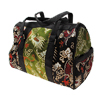 Fashion Jewelry Designer Embroider Ladylike Shoulder Bag- Green