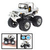 Toy - Radio Remote Control RC Cross-country 4x4 Racing Car-White