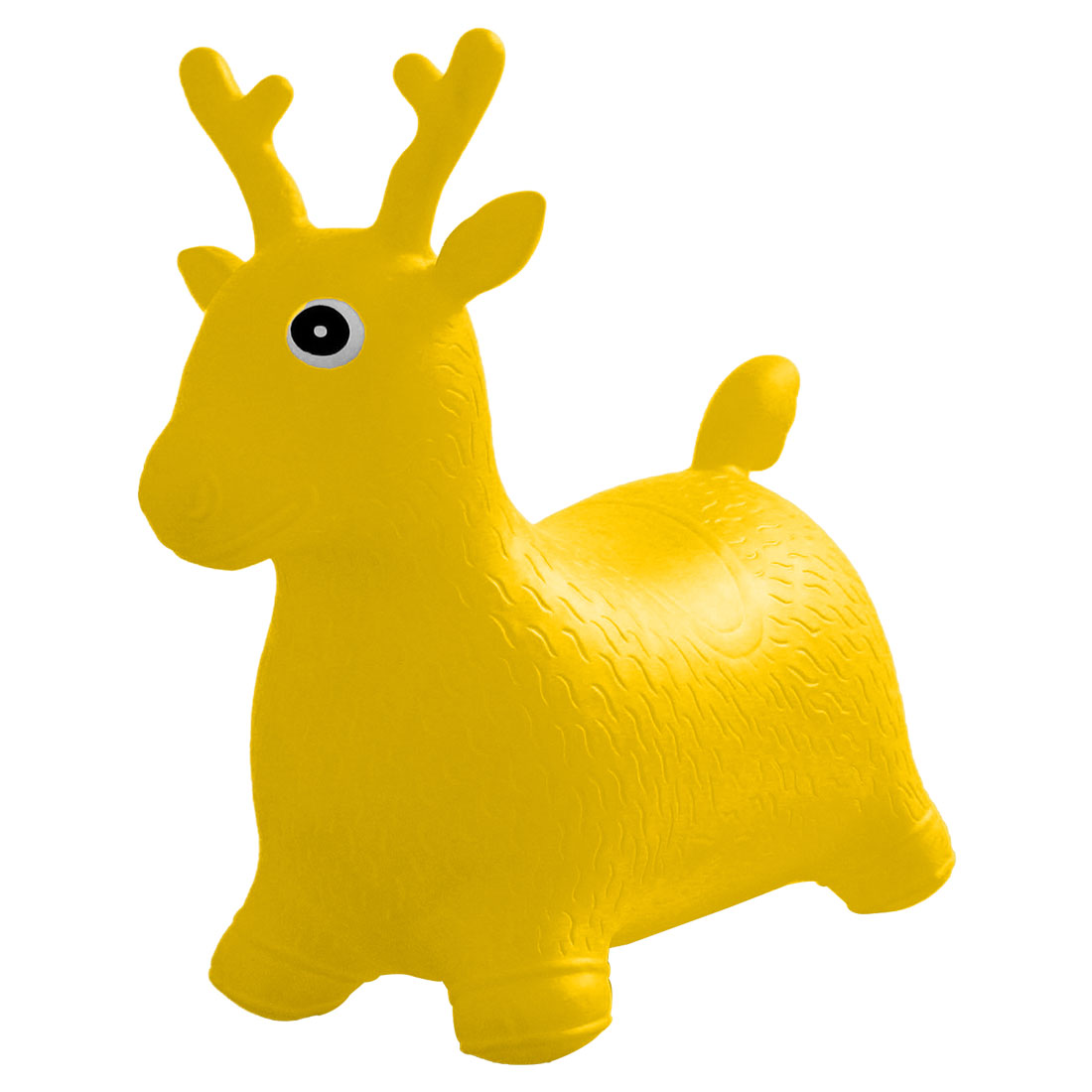 Toy Inflatable Playing Reindeer Baby Stool Yellow for Children