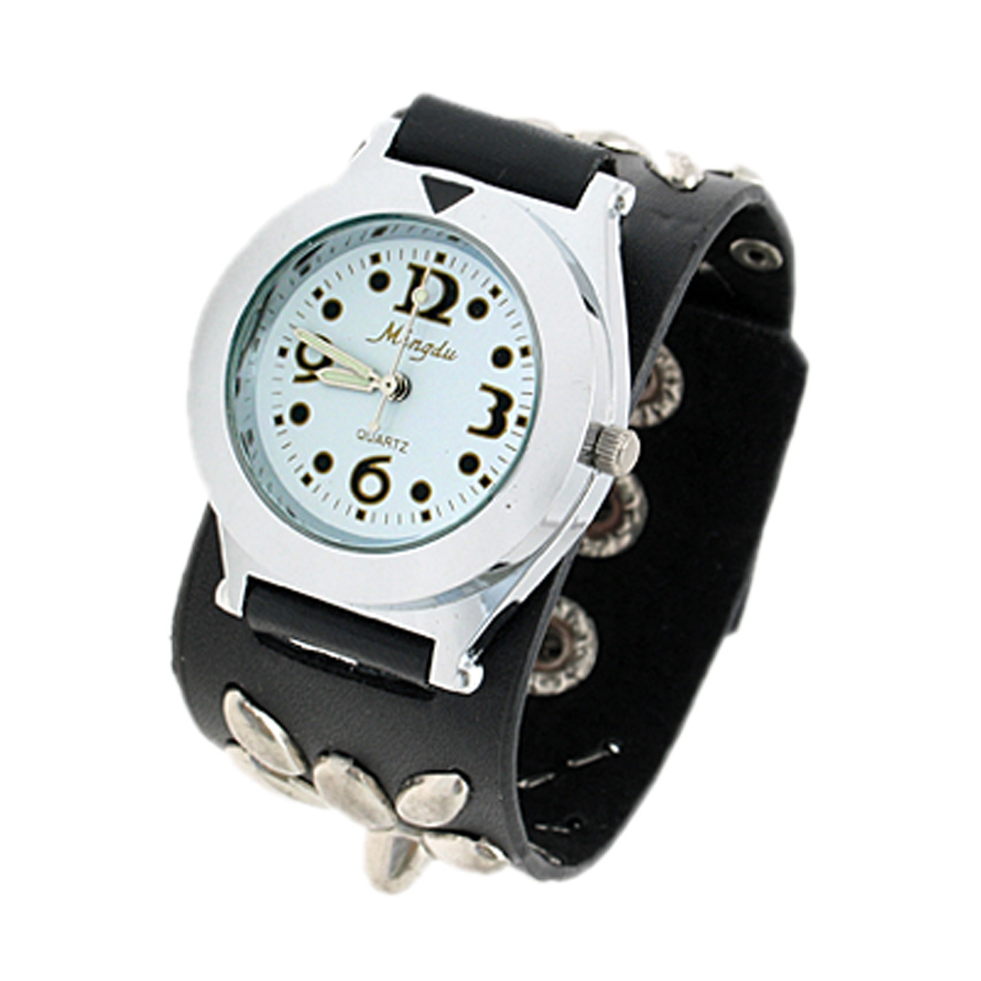 Fashion Jewelry Faux Leather Quartz Watch