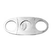 Classical Stainless Steel Cigar Cutter Silver Tone