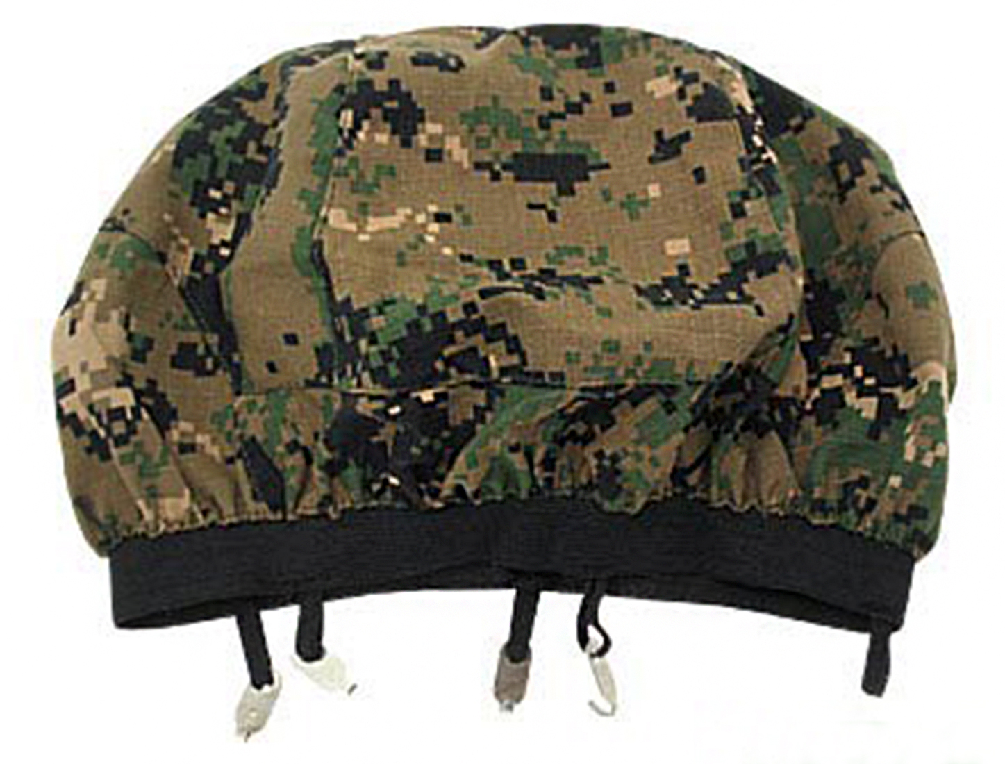 Army Head Protector Cover Hat - Green And Black