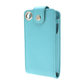 Leather Case for Apple iPhone 1st Generation w/Clip - Blue