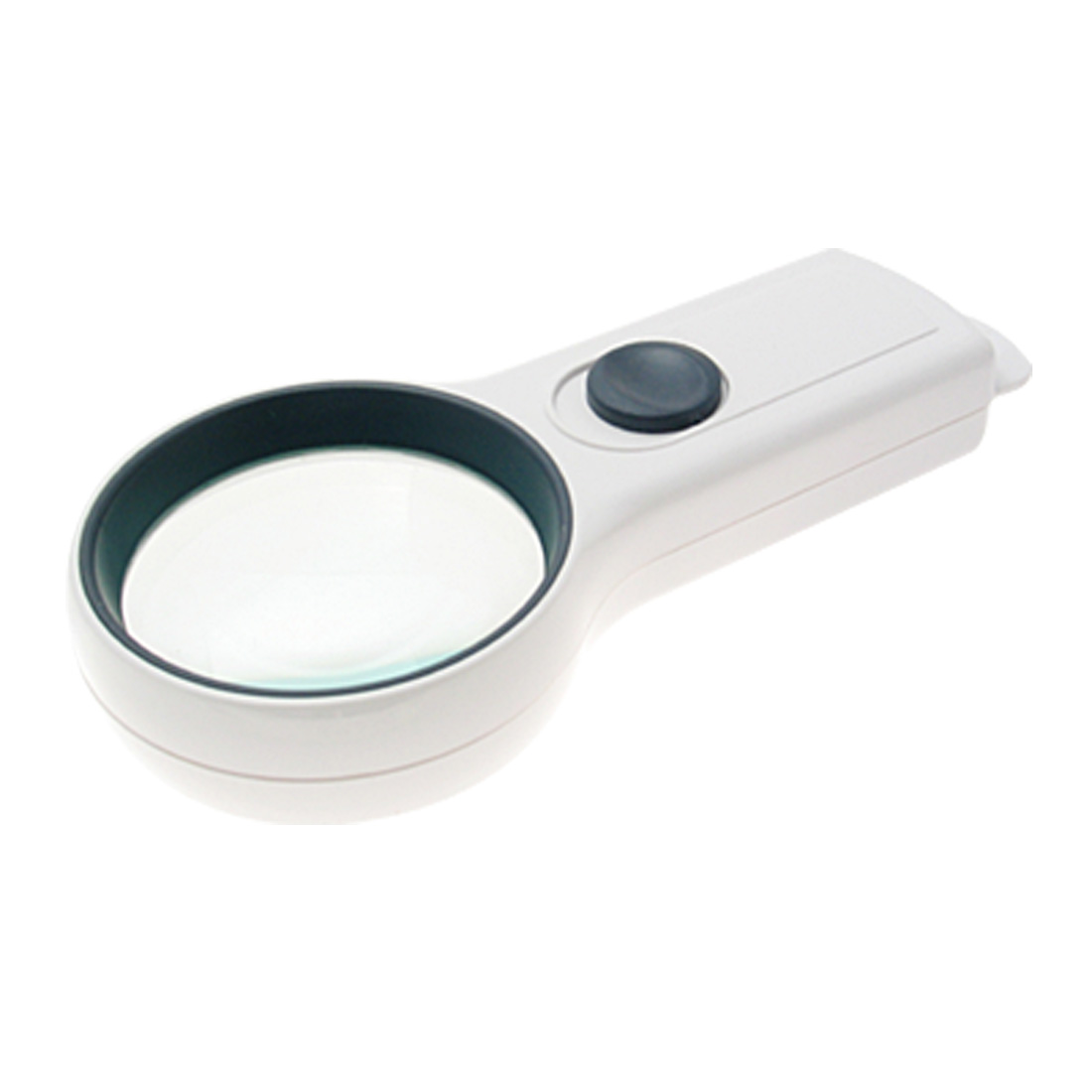 Pocket Illuminated Magnifier Magnifying Glass 4X MagnifierWhite