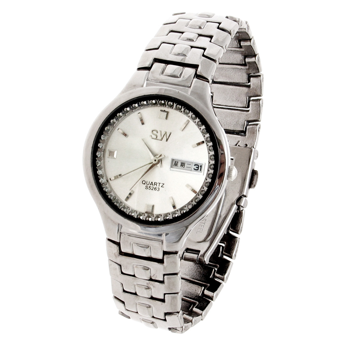 Fashion Jewelry Quartz Watch - Silver