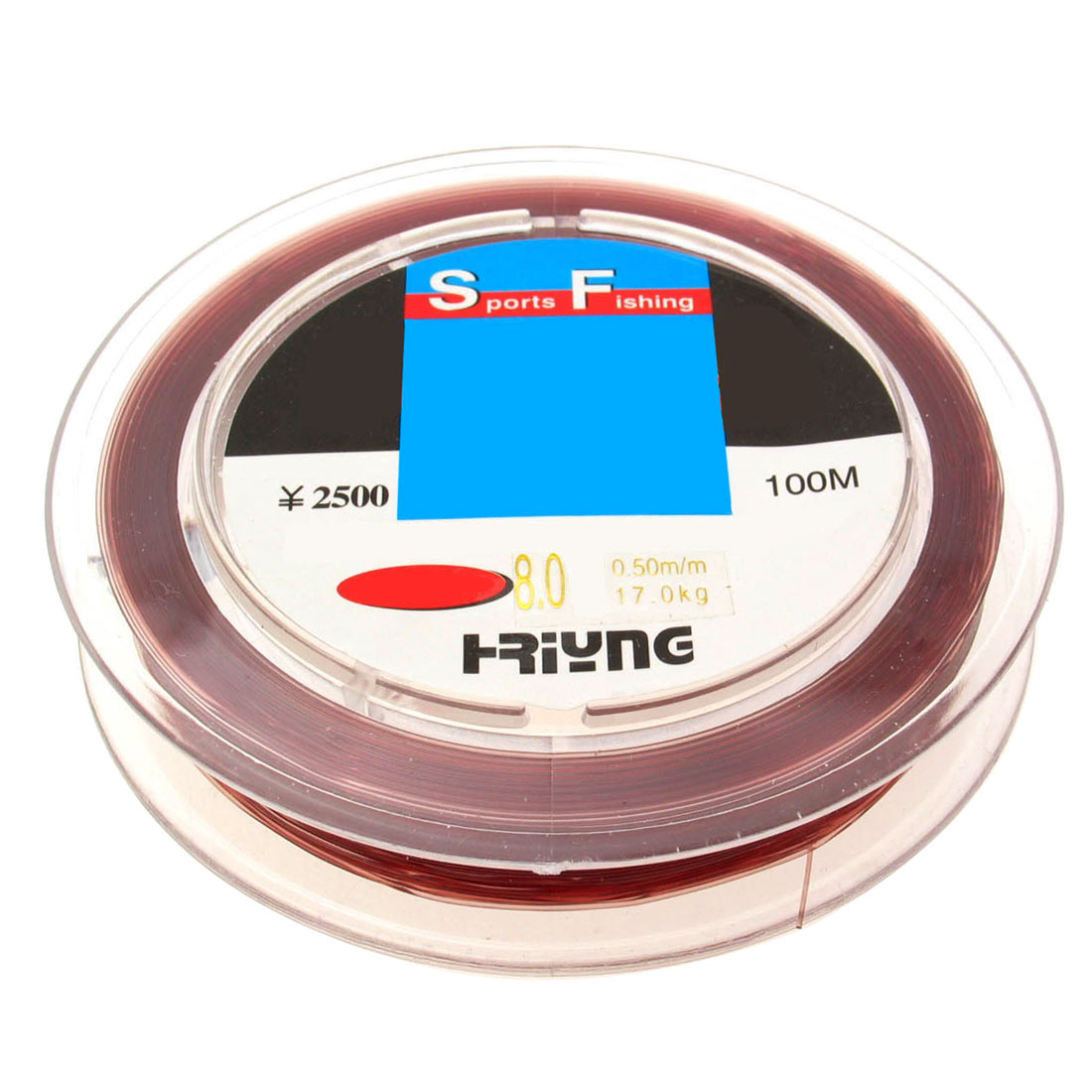 Fish Fishing Spool Line 100m Size 0.37mm