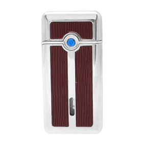 Classical Blue Crystal Crimson Cigarette Lighter