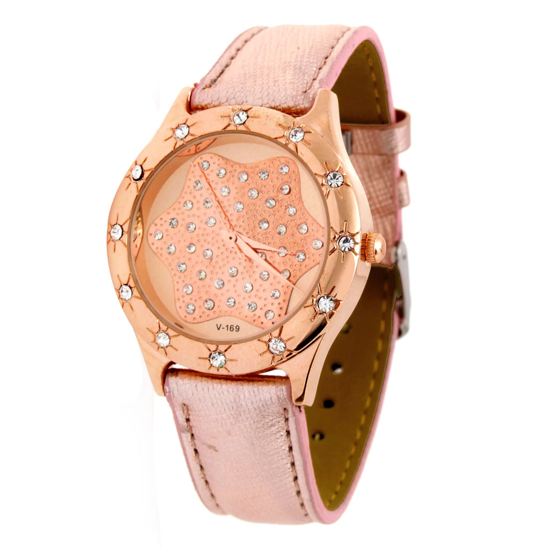 Fashion Jewelry Elegant Crystal Style Quartz Watch