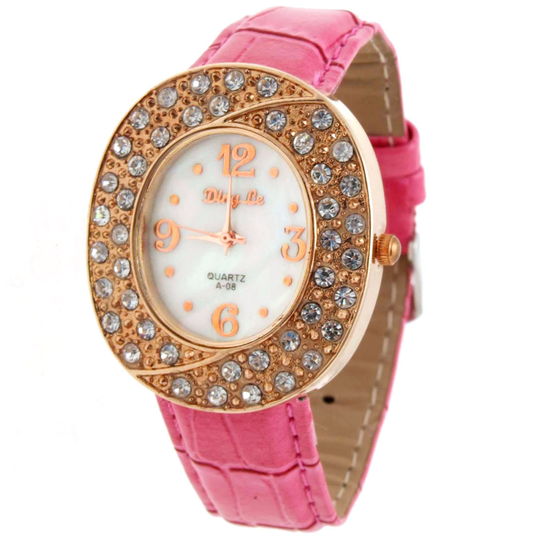Fashion Jewelry Fashionable Simulated Crystal Wristwatch