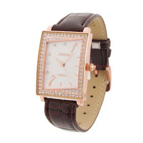 Stylish Brown Womens Watches Wristwatches