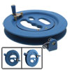 Professional Outdoor Kite Line String Flying Tools Winder Winding Reel Grip Wheel w Lock
